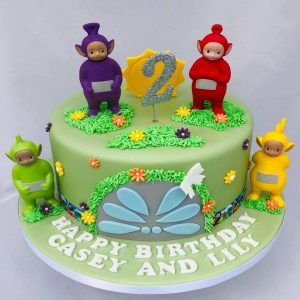 Admirable Teletubbies Cake Creative Cakes By Jenny Birthday Cards Printable Nowaargucafe Filternl