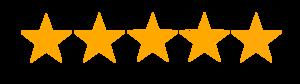5 start google reviews