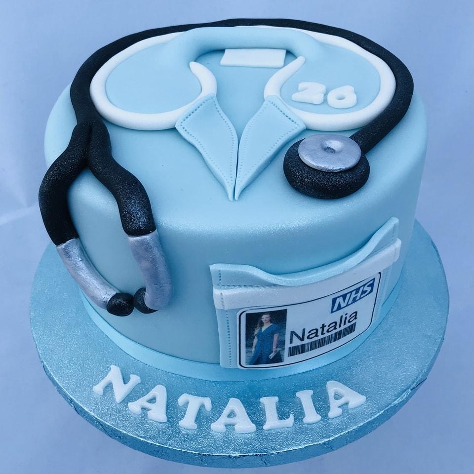 Nurse Cake Creative Cakes By Jenny